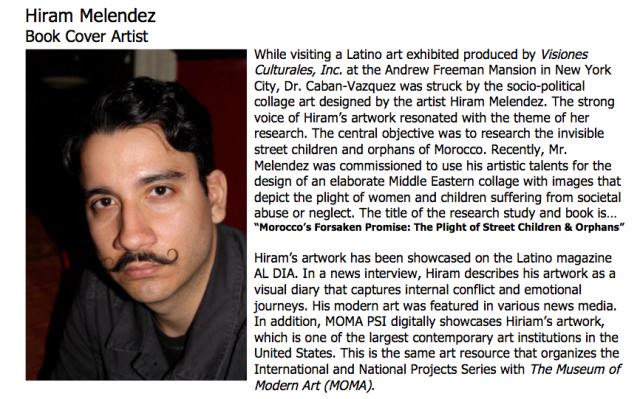 Hiram Melendez/ Artist