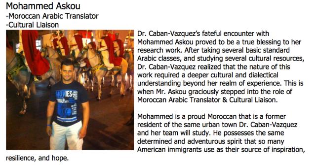 Translator/Cultural Liaison