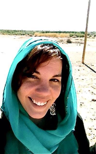 Doctora Vazquez in the Desert