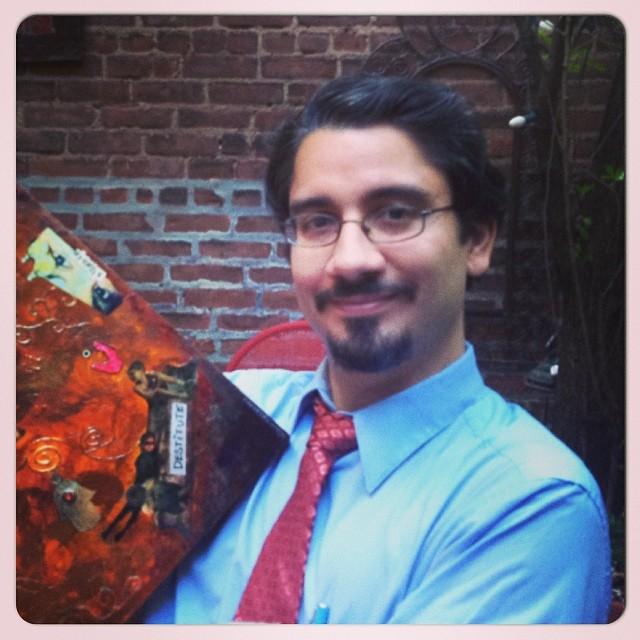 Artist Hiram Melendez