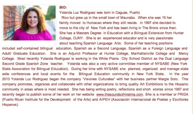 Yolanda Rodriguez-Cultural Event Coordinator