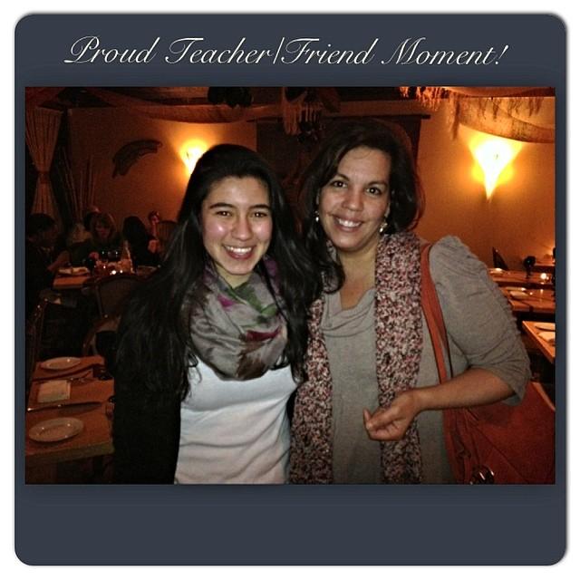 Dinner with Marcela