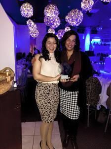 Dr. Vazquez & Marcela- Award