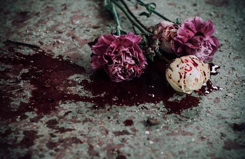 bloody-flowers