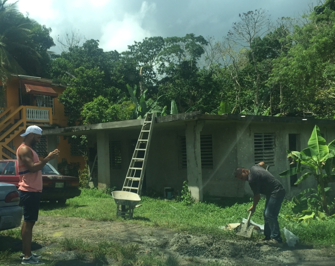 casa de maria construction